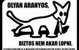Mérhető Budapesten a Kétfarkú Kutya Párt
