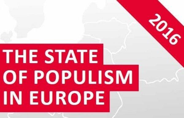 Új kiadvány: A populizmus helyzete Európában 2016-ban