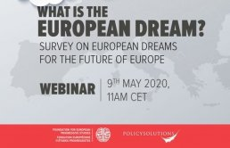 Invitation: 9th May - What is the European Dream?